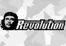 1x Che Guevara Rivoluzione AUTO STICKERS Castro TUNING DECAL Cuba Cuba Fidel XXe