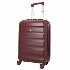 Aerolite Lightweight ABS Hard Shell 4 Wheel Spinner Cabin 55cm Luggage Suitcase
