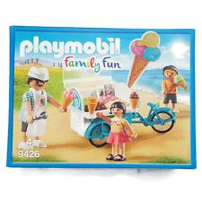 Playmobil Ice Cream Cart 9426 Carrito de Helados Fahrrad Eiswagen Marchand glace