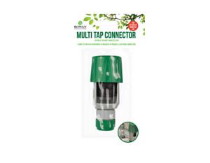 Multi Tap Connector - Connect Graden Hose To Inside Tap - Kitchin, Bathroom