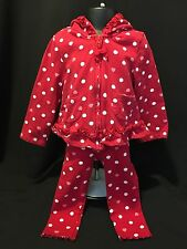 Gymboree Valentines Day Girl 2T-3T 18-24 Month Pink Red White Hearts Outfit Set