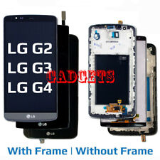 OEM for LG G2 G3 G4 Replacement LCD Touch Digitizer Screen Assembly + Frame