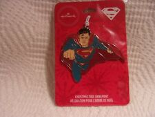 New Listing2017 Hallmark Superman Metal Ornament Free Shipping