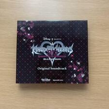 KINGDOM HEARTS Dream Drop Distance 3DS OST Soundtrack 3 CD Japan Game Music