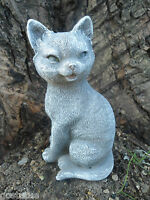 "Latex cat mold plaster concrete cement mould 6""H"