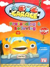 The Big Garage - Pretending & Believing DVD,NEW! Kids TV Cartoon Cars Learning