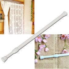 30-50cm Shower Curtain Rod Extendable Extending Shower Curtain Pole Rod Hanger