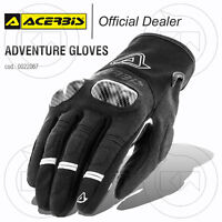 GUANTI ACERBIS ADVENTURE GLOVES MOTO SCOOTER INVERNALI TOURING NERO
