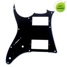 Left-Handed Quality Guitar PickGuard For Ibanez GRX20 Z ,3ply Black