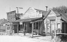 "RPPC SILVER CITY, ID ""Souvenirs Variety Shop"" Idaho Ghost Town Postcard ca 1950s"