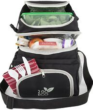 Soft Sided Cooler Freezable Lunch Bag Meal Prep Box Adult Men Women Insulated