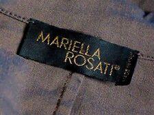 MARIELLA ROSATI,Italy StretchZipFrontPantsSuitSz12