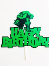 The Hulk - Super Hero Acrylic Cake Topper