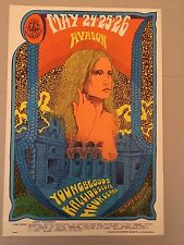 Fd120 Poster 1968 1st Print Youngbloods Hour Glass Family Dog Avalon Ballroom