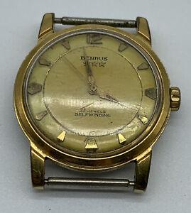 Vintage Benrus Self-Winding 25 Jewels Series 3 Star Men's Watch