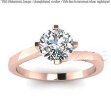 1.71 CT Off White Yellow Moissanite Ring Beautiful Wedding 925 Silver Ring I00