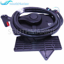 Boat Motor Side Mount Remote Control Box 881170A13 With 14 Pin for Mercury