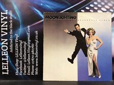 Moonlighting Soundtrack LP Album Vinyl Record MCF3386 A1/B1 TV 80's Bruce Willis