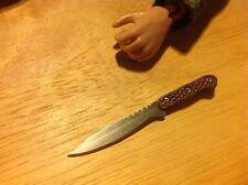 1:6 Scale Hand Crafted Miniature Steel Tactical Combat Knife #7 By Auret