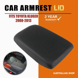 🔥For Toyota Kluger Armrest Lid 2008 -2013 PU leather Black Centre Console🔥