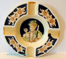Ashtray German Design Tilso hand painted made in Japan