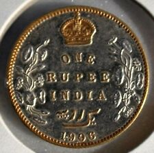 1906 India King Edward VII  Heritage Coins, One Rupee Crafted by Gwalior State