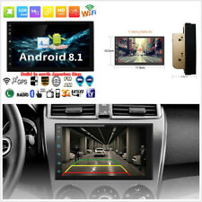 "North America Map 2Din Android 8.1 7"" HD Quad-Core Car GPS Wifi 3G 4G BT DAB OBD"