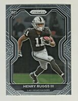 2020 Panini Prizm #372 HENRY RUGGS III RC Rookie Raiders