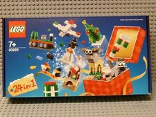 LEGO ® 40222 Holiday compte à rebours Advent Calendar (24in1) - NEUF & OVP rare r926