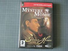 Jeu PC : le mystère de la Momie, Sherlock Holmes