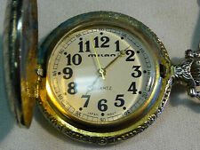 Milan Pocket Watch Quartz Battery Powered-Doesn'T Work May Be Just The Battery
