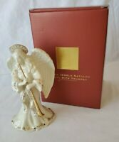 Lenox Porcelain Angel with Trumpet Figurine China Jewels Nativity Collection