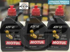 3 Litri MOTUL ATF VI Olio Fluido Trasmissione Cambio Automatico 100% Sintetico