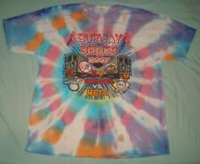 VTG 2007 SUBWAY SERIES T SHIRT TIE DYE XL NEW YORK YANKEES METS CITY 2 SIDED NYC