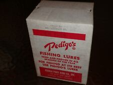 Dealer Box! Vintage Spinrite Pedigo Pork Rind Co. Pre Uncle Josh L784 1/2 oz