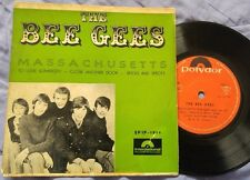"""THE BEE GEES - Massachusetts / To Love Somebody ISRAEL ONLY EP 7"""" PS"""