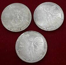 moneda de Mexico-1/10 onza de plata pura Ley-999 , 1992. s/c