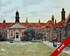 EMMANUEL HOSPITAL WESTMINSTER LONDON ENGLAND BRITISH ART CANVAS PAINTING PRINT
