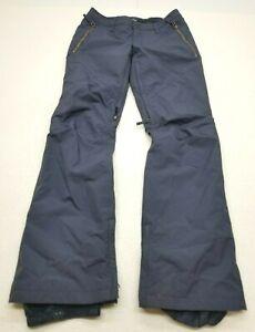 BURTON Dryride Thermolite Mens Ski Snowboard Pants Navy Blue Size Small