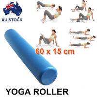 Yoga Roller Physio Pilates Gym Exercise Back Training EVA Foam 60x15cm AU STOCK