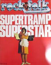 MAGAZINE ROCK & FOLK N° 155 de 1979 SUPERTRAMP HIGELIN FLEETWOOD MAC LES KINKS