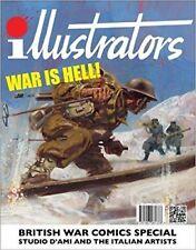 BRITISH WAR COMICS SPECIAL - ILLUSTRATORS, STUDIO DAMI AND THE ITALIAN ARTISTS