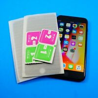 HD Privacy Anti-Spy Tempered Glass OR Plastic Protector Lot For  iPhone 8 Plus