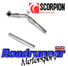 Scorpion Golf GTI MK5 Exhaust Stainless Downpipe Sports Cat Inc Connecting Pipe