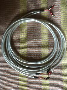Chord Clearway Speaker Cable 4.5m Pair + Chord Ohmic Plugs