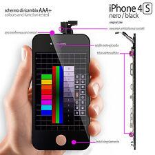 TOUCH-SCREEN + LCD NETZHAUT IPHONE 4S SCHWARZ (ANZEIGE KOMPLETTE VORMONTIERT)