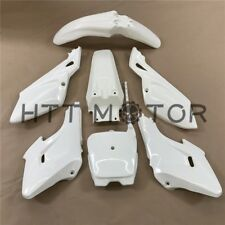 7 PCs White Plastic Fairing Body Cover Kits For Baja Dirt Runner 125