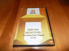 DEEP SEA DETECTIVES The Andrea Doria Tragedy Shipwreck HISTORY CHANNEL DVD NEW