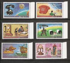 Guinea-Bissau SC # 368-368A-E Telephones . MNH