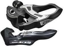 Composants et pièces de vélo noir Shimano carbone